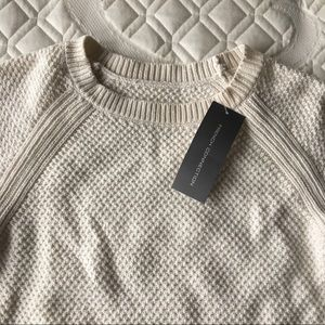 French Connection 100% cotton knit sweater